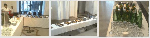 Buffet-Catering-Wien - ÖAK-Festsaal - Vogelgrippe-Symposium - Kaffeepause