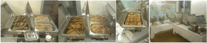 BUFFET-CATERING-WIEN - Geburtstagsfest - Klassisches Buffet - Schnitzel, Schweinsbraten, Schinkenfleckerln, Vegetarischer Gemüsestrudel, Fritattensuppe