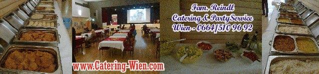 Buffet-Catering im Haus der Begegnung - preiswert & gut